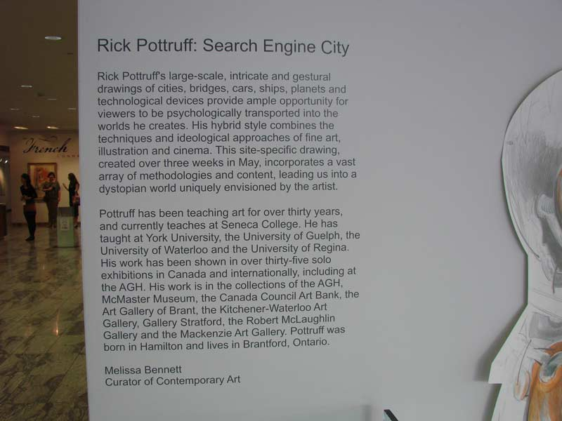 Search Engine City Opening at Art Gallery of Hamilton